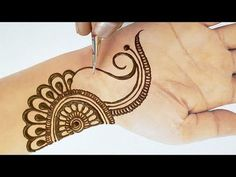 Easy Beautiful Mehndi – New Stylish Full Hand Mehndi Design Step by Step – आसान मेहँदी लगाना सीखे – Henna Tattoos Mehendi Mehndi Design Ideas and Tips