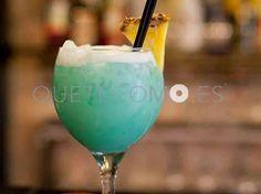 Cocktail BlueMonday   Restaurante tapería Club nocturno Juanita Lalá en Barcelona