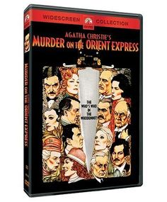 "Murder on the Orient Express ~ ""In 1935, when his train is stopped by deep snow, detective Hercule Poirot is called on to solve a murder that occurred in his car the night before."""