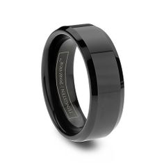 Tungsten wedding band for him. Will never scratch or scuff, never needs to be re-plated, cleans easily. Can be laser engraved, although it can never be resized. This ring is $219, so who really cares, just pick up a new one!