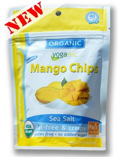 **NEW** Mango Chips - Sea Salt  $4.49 per bag  (Only sold in 6 pk)