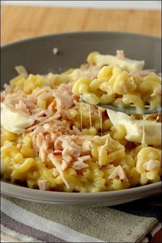Risotto ham-shells of Jean-François Piège happypapilles. Risotto, Cooking Chef, Cooking Recipes, Healthy Recipes, Chefs, Food Porn, Salty Foods, Food Inspiration, Pasta Recipes