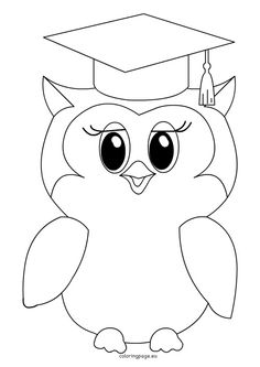 adult elephant coloring pages flying robin bird coloring page happy Elephant Coloring Page, Owl Coloring Pages, School Coloring Pages, Coloring For Kids, Coloring Books, Graduation Images, Graduation Cards Handmade, Animal Cutouts, Robin Bird