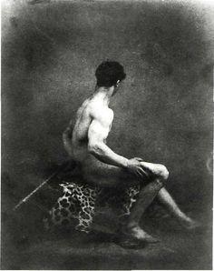 Artwork by Eugene Delacroix - Male nude daguerreotype, Antique Photos, Vintage Photographs, Old Photos, Vintage Photos, History Of Photography, Nude Photography, Ferdinand, Eugène Delacroix, Art Actuel