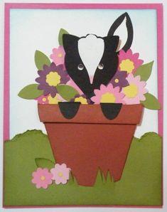 Stampin' Up!  Blossom Petals  Jackie Topa  Skunk Punch Art