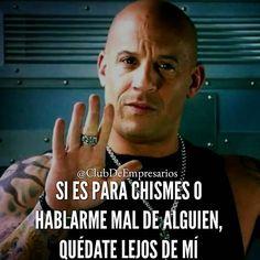Fuera de aquí las malas vibras. @ClubDeEmpresarios #ClubDeEmpresarios #chisme #chismes #hablar #respeto #respect #realidad #real