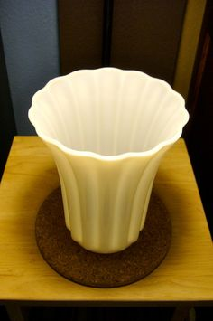 SALE 20 OFF Large White Glass or Milk by MiltonsGrdnMenagerie, $20.00