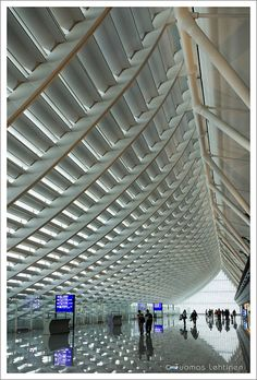 Taiwan Taoyuan International Airport. Phonetica - the world's best PA system for airports.