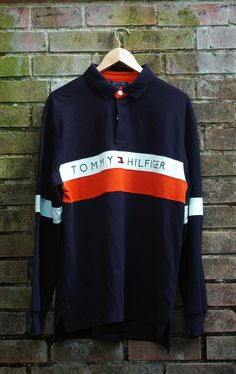 Image of Tommy Hilfiger Rugby Shirt Size Large