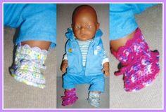 Patroon babyborn slofjes | Leukebabyslofjeshaken.jouwweb.nl