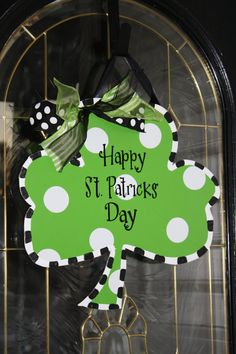 St Patricks day Shamrock by Classybutsassygifts on Etsy, $25.00