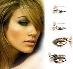 Makeup Tips: Beauty Tips: Eye Makeup: Easy Tutorial on How to Obtain Smokey Eyes