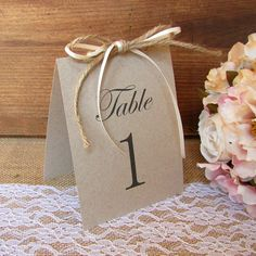 Rustic table number - Table numbers wedding - Rustic wedding table number - Wedding table number - Reception table numbers - Table number