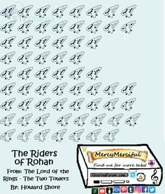 The Riders of Rohan - Lord of the Rings: The Two Towers