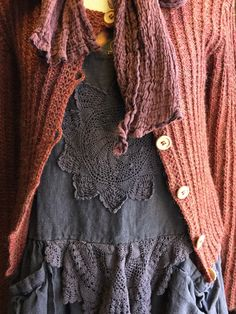 Handmade Clothes, Wool, Unique, Fashion, Diy Clothing, Moda, Fashion Styles, Fashion Illustrations