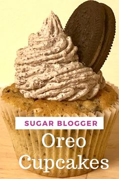 Simple and easy Oreo Cupcakes recipe. Moist vanilla cupcakes with chunks of oreo�s throughout. Along with delicious Oreo buttercream and finished with a whole Oreo on top.#Oreocupcakes #cupcakes #easyoreocupcakes #Oreo