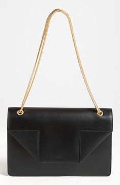 Saint Laurent 'Betty - Medium' Leather Shoulder Bag available at #Nordstrom