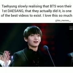 "5,912 Likes, 65 Comments - relaTAEble memes here| Zoey (@bts_memes__) on Instagram: ""This is one of my favourite videos Ive had it since dec 2016 but i never shared it because it's…"""