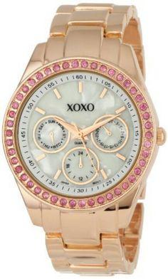 XOXO Rose gold & pink. So feminine.