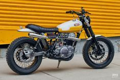 This funky SR500 is like your favorite childhood BMX bike—a fun, kerb-hopping urban runabout that'll put a smile on your face.