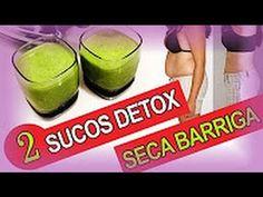 2 Receitas De Sucos Detox  Suco Seca Barriga