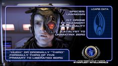 #STARFLEET INTELLIGENCE | Hugh, #Borg Designation Three of Five | #StarTrek