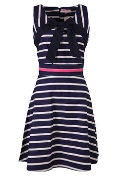 AllFashion.com.au - Trollied Dolly Stripe Dress