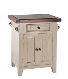 hillsdale furniture 5465855w tuscan retreat granite top small kitchen island