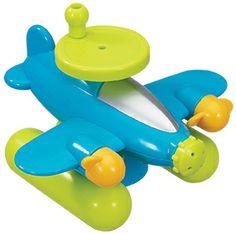 Bain - Hydravion animé  #bain #jouet #toy #plane #jeux #bathtime