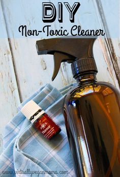 DIY Thieves Household Cleaner. Easily Ditch those nasty chemicals! Learn all about Thieves Essential Oil!