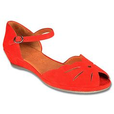 Gentle Souls Lily Moon Red Kid Suede