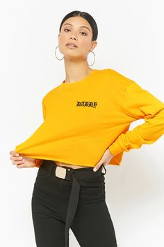 Product Name:French Terry Daddy Graphic Sweatshirt, Category:CLEARANCE_ZERO, Price:25