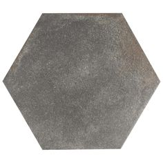 Merola Tile D'Anticatto Hex Notte 11 in. x 12-5/8 in. Porcelain Floor and Wall Tile (11.42 sq. ft. / case)-FNUDAXNO - The Home Depot