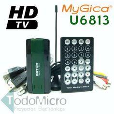 Sintonizadora Tv Digital Usb Mygica U6813  fm  Tv Analogica - $74.32