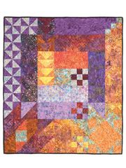 A very different type of quilt I may try making this when I have when my next bigger project is out of the way.