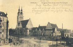 Ul, Old Photographs, Dresden, Poland, Postcards, Cathedral, The Past, Travel, Historia