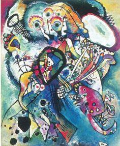 Vasilij Kandinskij. Due ovali. 1919