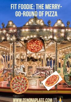 SIMPLY DELISH : FIT FOODIE: THE MERRY-GO-ROUND OF PIZZA