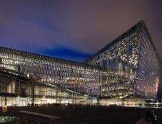 DLW Linoleum Referenzen - Harpa Konzert- und Konferenzzentrum Reykjavik - Armstrong