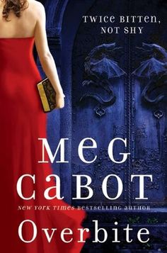 Overbite (Insatiable, #2) by Meg Cabot; Meena Harper has a special gift, but it's only now that anyone's ever appreciated it. The Palatine Guard — a powerful secret demon-hunting unit of the Vatican — has hired her to work at their new branch in Lower Manhattan. With Meena's ability to predict how everyone she meets will die, the Palatine finally has a chance against the undead.    Sure, her ex-boyfriend was Lucien Antonescu, son of Dracula, the prince of darkness. But that was before he...