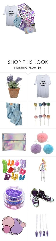 """Do You Remember the Good Ol' Days?"" by choice-to-be ❤ liked on Polyvore featuring Esschert Design, Dickies, Original Gourmet Food Company, Hello Parry, CO, My Little Pony, Medusa's Makeup, Converse, Yazbukey and Bullet"