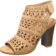 Cut out chunky heel booties True to size Import Preorder ships in 2 to 4 weeks Mystery Box, Chunky Heels, Heeled Mules, Booty, Shoes, Style, Fashion, Thick Heels, Swag