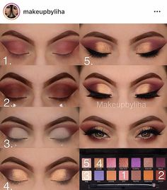 29 Trendy Smokey Eye Makeup Step By Step Anastasia Smokey Eye Makeup Anastasia Eye Makeup Smokey Step Trendy Makeup Eye Looks, Smoky Eye Makeup, Eye Makeup Steps, Eyeshadow Makeup, Makeup Eyes, Anastasia Makeup, Simple Makeup Tips, Smoky Eyes, Makeup Pictorial