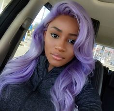 "Black girls are ugly with colored hair ""  yea ok 
