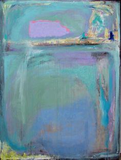 Abstract Painting Original mixed media art 36 by cherylwasilowart, $799.00