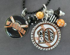SPORTS JEWERLY Customizable Team Number by onceuponasugartree, $23.00