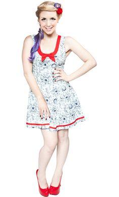 Sailor Girl Tentacle Dress