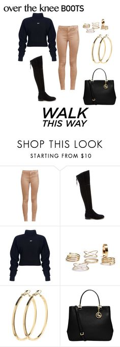 """Untitled #393"" by justbrandy79 on Polyvore featuring French Connection, Dolce Vita, Pieces and MICHAEL Michael Kors"