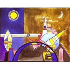 Picture XVI by Wassily Kandinsky oil painting art gallery