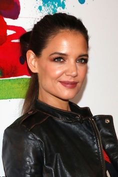 Katie Holmes appear at Desigual fashion show during MBFW Fall 2015 - http://celebs-life.com/?p=84974